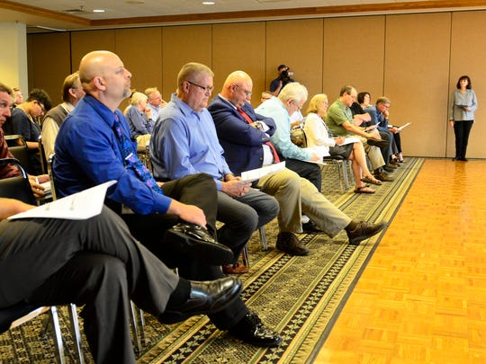 The Nuclear Regulatory Commission held a public meeting on Tuesday evening in Port Clinton.