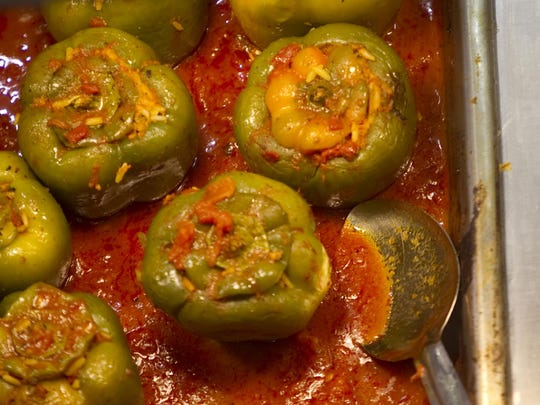 Stuffed green peppers will only be available on Tuesday this year.