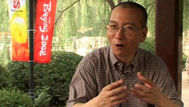 Liu Xiaobo in Beijing, China.
