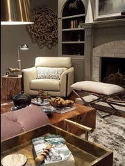 """A particular style can transform any room, according to Griffing. """"Transitional, for definition purposes, is that little sweet spot between modern and traditional,"""" he said."""