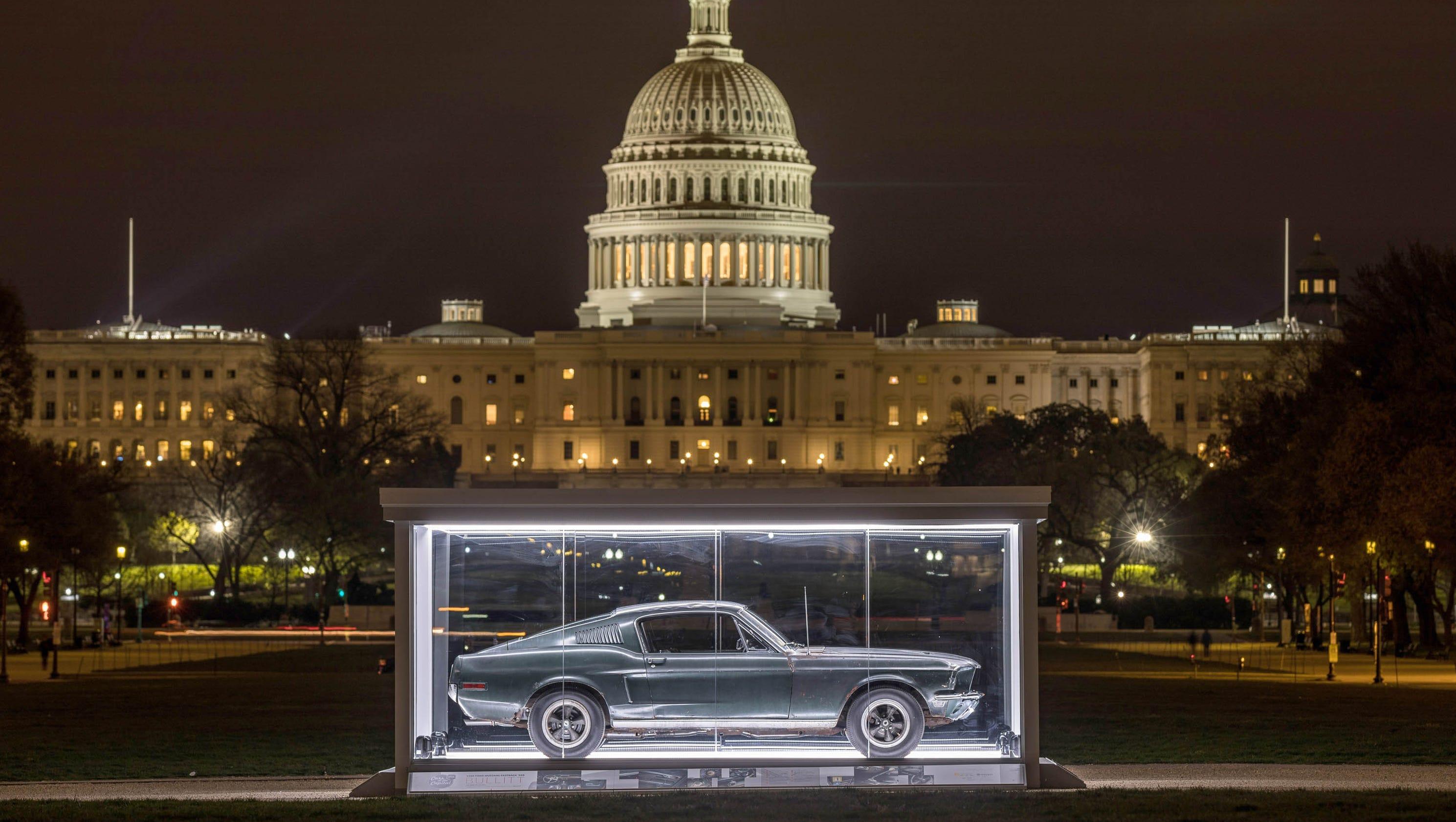 Photos 68 Bullitt Mustang Displayed On National Mall