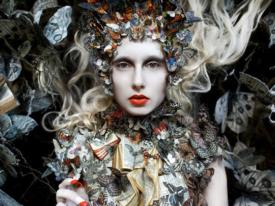 The Ghost Shift by photographer Kirsty Mitchell, whose work may be seen at the Paine Art Center and Gardens through Oct. 29.