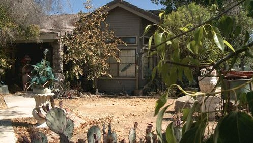 A mummified body was found in this Gilbert home on Leah Lane near Baseline Road.