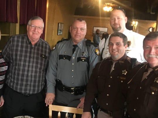 Superintendent Sheffer, John Robinson, Russel Roberts,