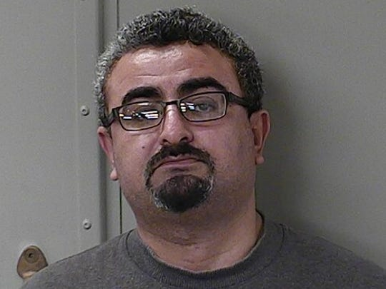 """Ehab Ezat Malaty, Quick Stop Tobacco and Beer in Murfreesboro, charged with possessing and selling a schedule VI drug in a drug free zone, was arrested as part of """"Operation Candy Crush,"""" Rutherford County's sting of CBD vendors."""