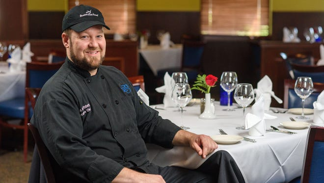 Jason Roberts is the executive chef at Z's Oyster Bar & Steakhouse. He's pictured at the restaurant's 101 Whittington Parkway location.