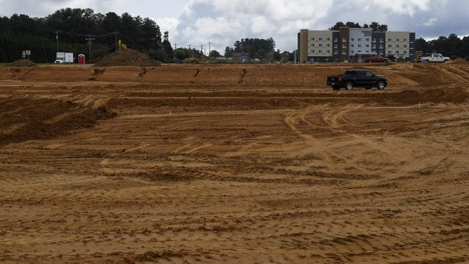 People have been curious about dirt being moved in Flat Rock.