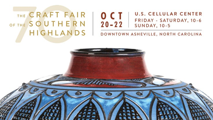 Southern highland craft guild for Craft shows in nc 2017