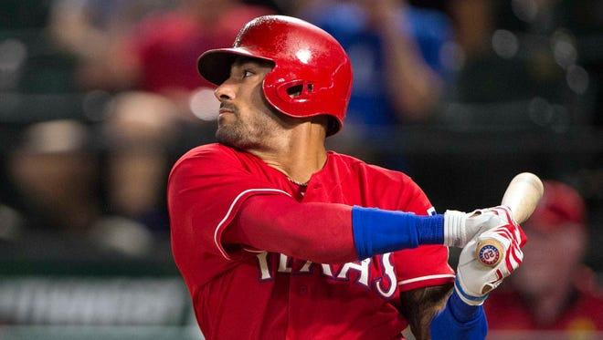 Ian Desmond had a bounce-back season in Texas, hitting .285 with 22 home runs and 86 RBI.