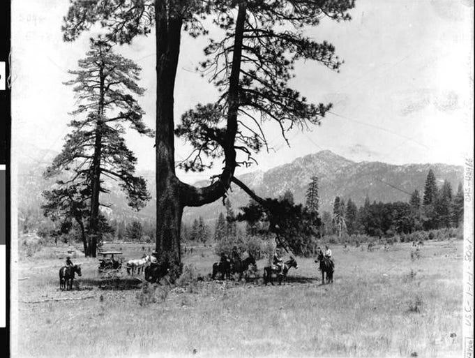 Idyllwild in 1895.