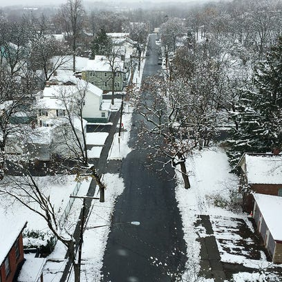 Snow blankets Hudson Valley on day before Thanksgiving