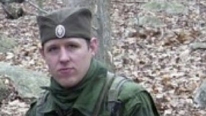 Police have caught glimpses of Eric Frein, shown here in this undated photo. He is hiding in the woods of northeast Pennsylvania.