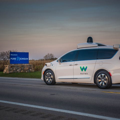 Waymo plans to test its self-driving Chrysler...