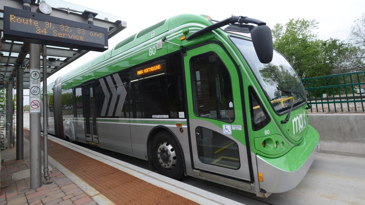 Transfort will celebrate the 2-year anniversary of the start of MAX bus service with festivities planned 3:30 to 5:30 p.m. Thursday at the system's Drake Station.