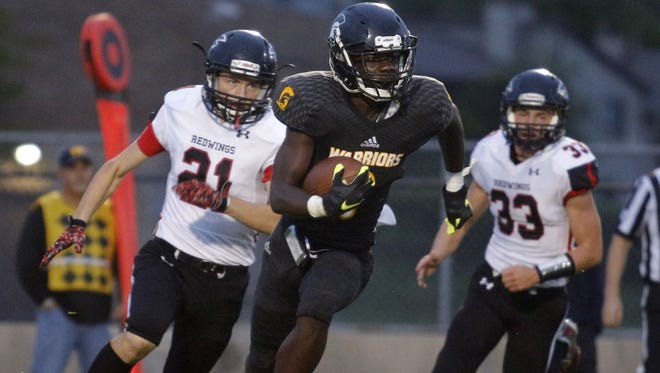Keshaun Harris was an honorable mention all-league receiver last fall and is among the returners for Waverly.