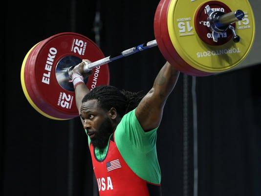 Pan Am Games: Weightlifting