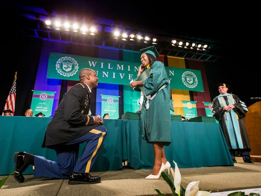 Wilmington University Graduation 2017