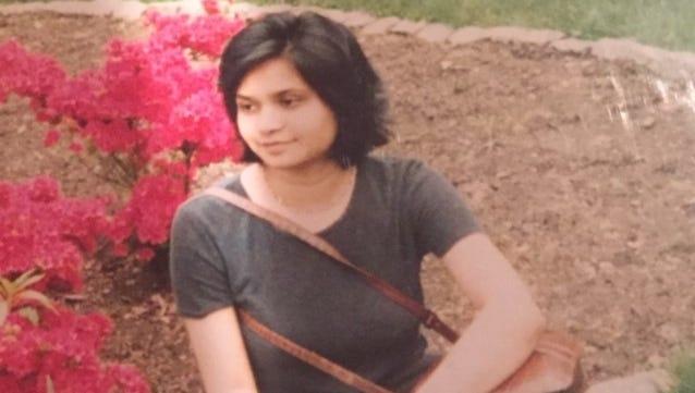 Swapna Venugopal Ramaswamy in a photo taken by Mary Lou Van Name in 1998