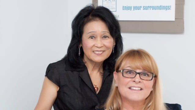 CathyAnn Sarra, Principal and Managing Partner with Dr. Lan Ho, Chief Information Officer at SOCii Media Marketing