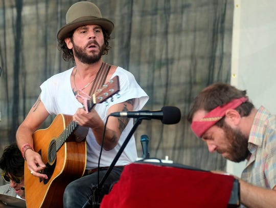 Langhorne Slim will perform at the 2019 Rhythm N' Blooms festival in Knoxville, Tenn.
