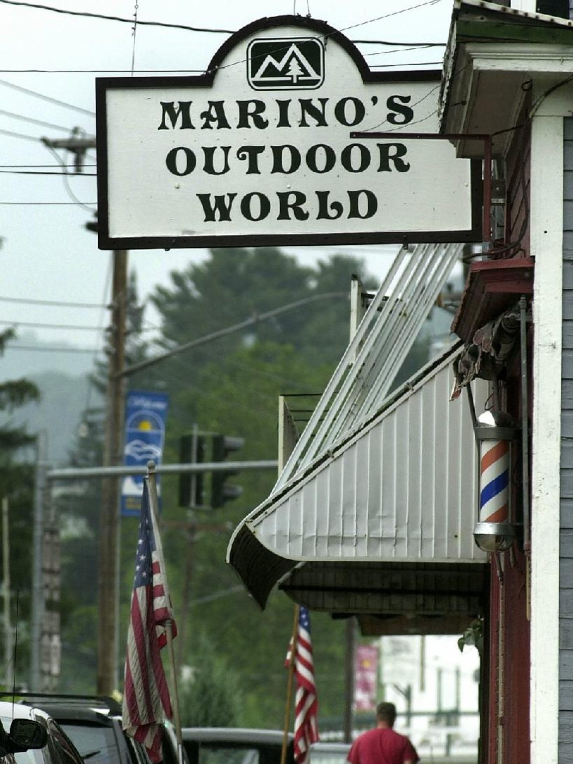 Marino's Outdoor World in Hancock was the site of a
