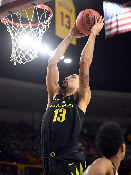 NCAA Basketball: Oregon at Arizona State