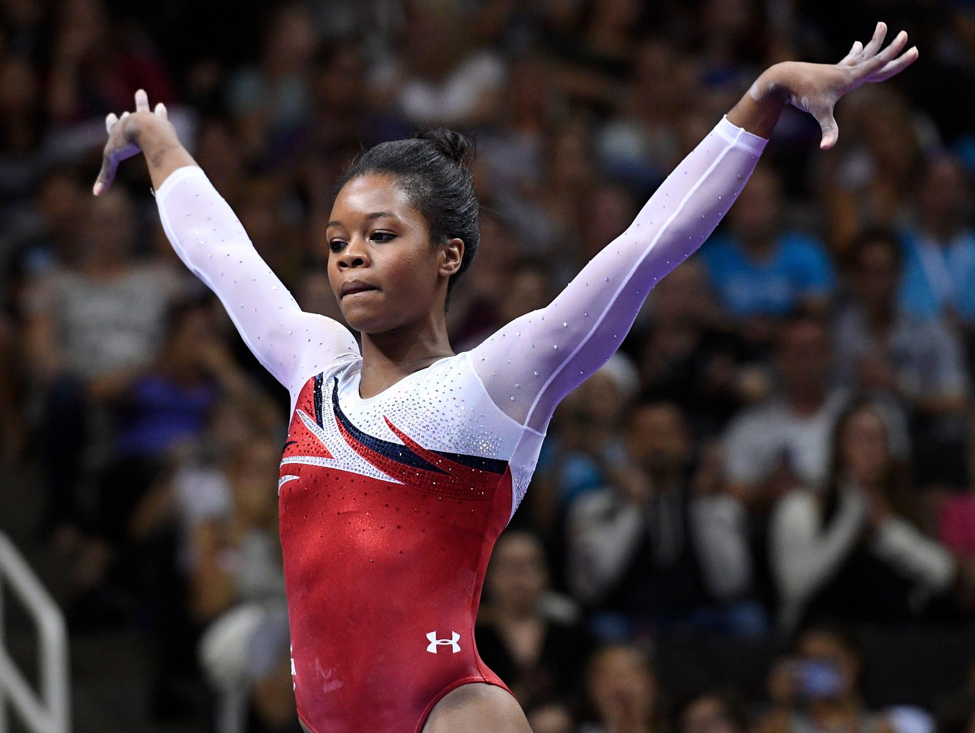 Floor Gymnastics Gabby Intended Gymnastics Us Olympic Team Trials Womens Gymnastics Gymnasts Gabby Douglas Aly Raisman Beat Odds By Making Second