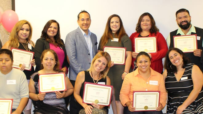 Women's Economic Ventures recently celebrated the accomplishments of 17 people who completed its Ventura County-based advanced Spanish self-employment training course.