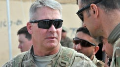 U.S. Army Brig. Gen. David Haight of the 10th Mountain