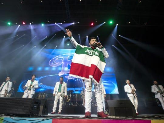 La Banda El Recodo ofreció concierto en Moscú, Rusia.