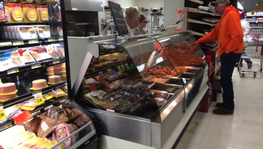 The Royal Supermarket in Plainfield has added new hot