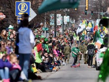 Downtown goes green for 39th annual St. Patrick's Day Parade