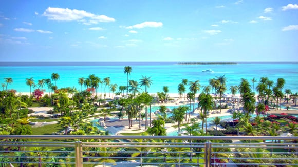 The SLS Baha Mar has finally opened in the Bahamas.