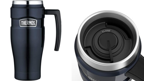 Keep your coffee hot while on the go.