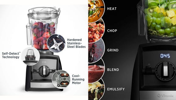 This blender can adjust its programs to suit the size