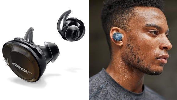 Best Gifts for Golfers 2018: Bose SoundSport Free Wireless Headphones (Photo: Bose)