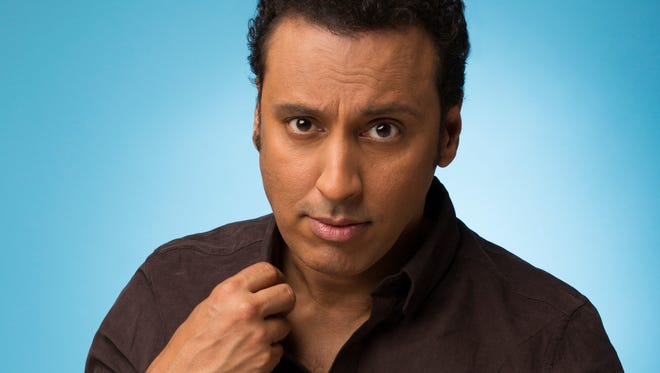 Aasif Mandvi. Photto by Adam Cantor.