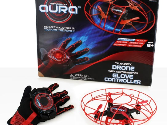 Aura Drone Ages 6 and older This tech toy allows your