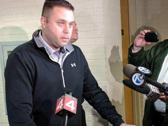 Canton Township Public Safety Director Joshua Meier