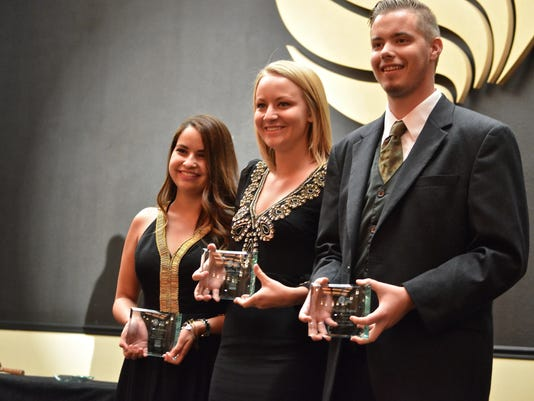 Passing of the Gavel 2015 - Cait Zona awards