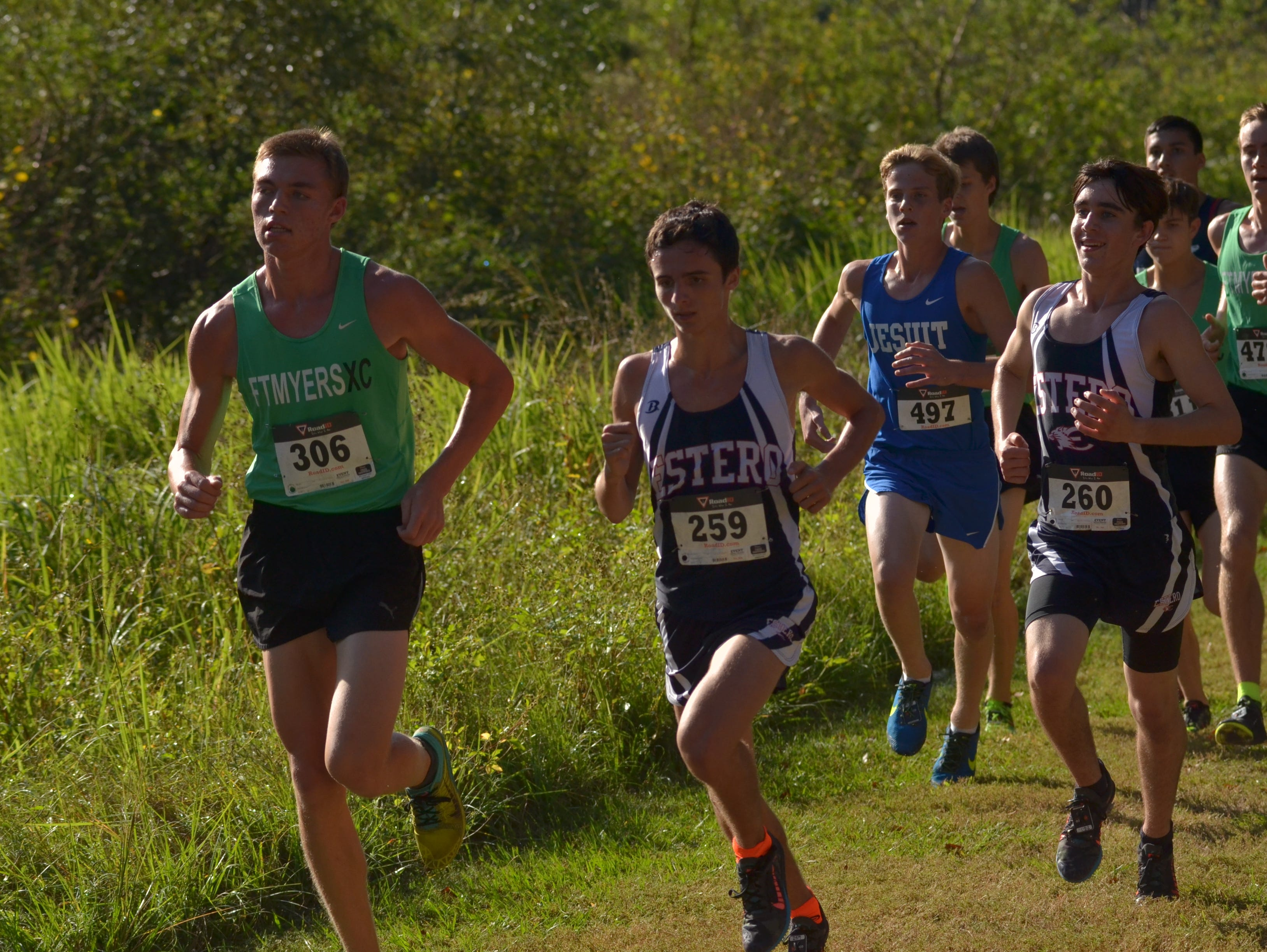 Fort Myers junior Evan Babatz finished second at the Region 3A-3 race at Holloway Park in Lakeland.