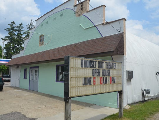 The Quonset Hut Theater in downtown Athens.