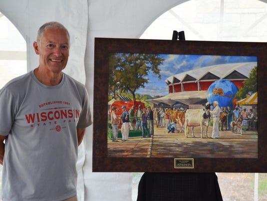 Larry Schultz painting