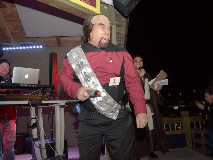 2017 Pensacon Kick-off Costume Contest at the The Deck