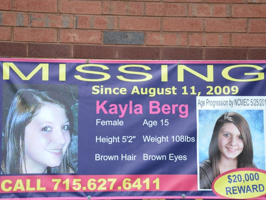 A $20,000 reward remains in place for information that helps the Antigo Police Department arrest and convict the person who kidnapped 15-year-old Kayla Berg, who was last seen alive eight years ago in central Wisconsin.