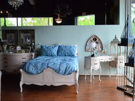 Rusticoco combines rustic and ornate design.