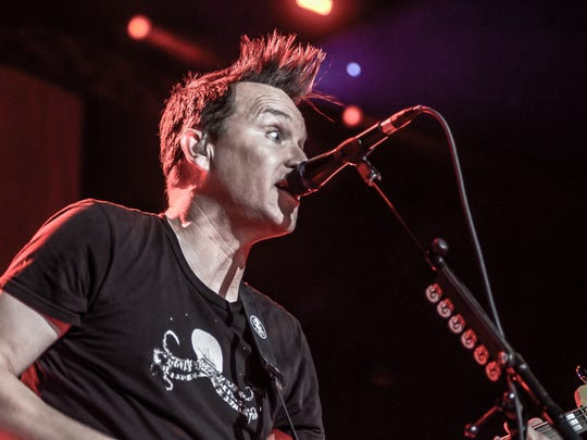Blink-182 in concert at Pensacola Bay Center on May
