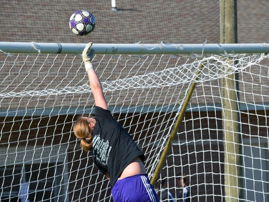 Jessalynn Genier is a standout soccer player for Lakeview