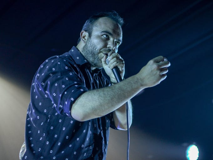 Future Islands in concert at VInyl Music Hall on June