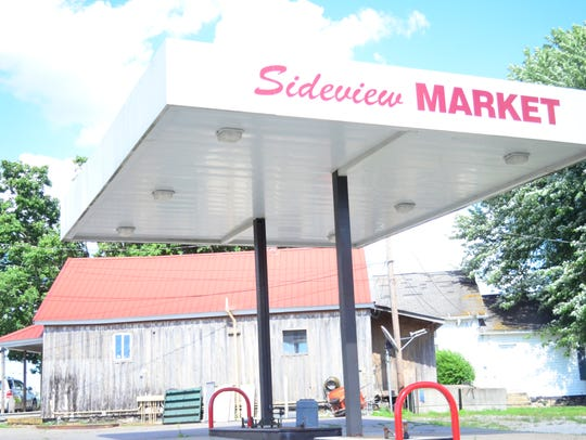 Sideview Country Market will have gas as well as typical
